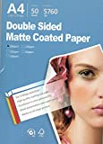 Premium Double side matte Inkjet Photo Paper 8.3''x11.6'' A4 Size 50 sheets weight 180gsm
