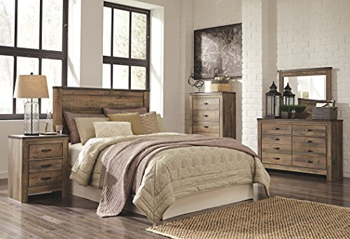 Signature Design by Ashley B446-57 Trinell Panel Headboard, Queen