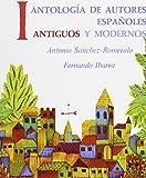 img - for Antolog?de?ed???a de autores espa?de?ed???oles: antiguos y modernos, Volume I by Antonio Sanchez-Romeraldo (1972-04-11) book / textbook / text book
