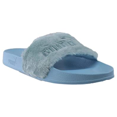 timeless design 7a315 06133 PUMA Mens Fenty by Rihanna Fur Slide Casual Sandals