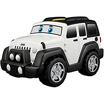 Bburago Junior Jeep Touch y Go Wrangler Jr. 16-81801, Color Blanco (: Amazon.es: Juguetes y juegos