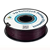 3D Solutech Eggplant Purple 3D Printer PLA Filament 1.75MM, 2.2 LBS