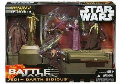 Star Wars Battle Pack: Jedi vs Darth Sidious