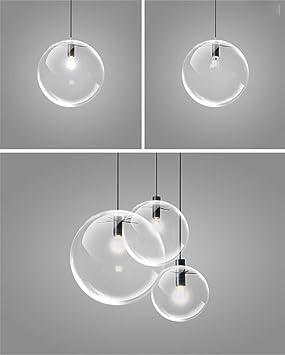 Wd Lampe De Lampe De Restaurant Lampe Moderne Lustre En Verre A Tete