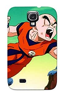 Hot Style ZbSxewD1354NPRGa Protective Case Cover For Galaxys4(dragon Ball Z Krillin Get Ready To Punch)