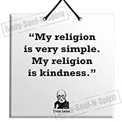 Dalai Lama - Sale Quote Ceramic Wall Hanging Art Sign Plaque TILE Home Gift Sign