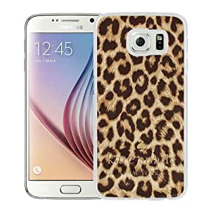Personalized Design With Kate Spade 55 White Samsung Galaxy S6 G9200 Protective Cover Case