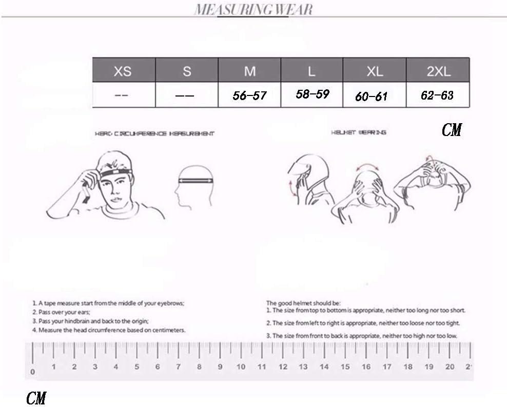 MTTK DOT-zertifizierter Retro-Moto-Helm mit Brille Vintage Motorrad Motorrad Halbhelm Elektro-Fahrrad-Schutzhelm,E,XXL
