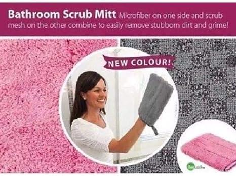 Amazon Com Norwex Graphite Bathroom Scrub Mitt Home Kitchen