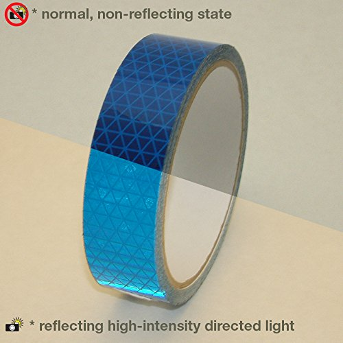 Reflexite REF-DB Retroreflective V92 Daybright Tape: 1 in. x 15 ft. (Blue)