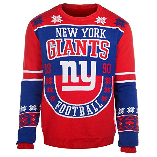 NFL New York Giants Retro Sweater