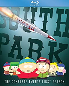 South Park: The Complete Twenty-First Season [Blu-ray] by Comedy Central