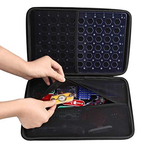 Aproca Hard Travel Storage Case Compatible with Snap Circuits Jr. SC-100 / Classic SC-300 / PRO SC-500 / Extreme SC-750 Electronics Exploration Kit ()