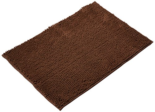 Clean Pooch Mat - Super Absorbent Mat - Perfect for Pets - Brown - 18'' x 28'' by Novel Brands