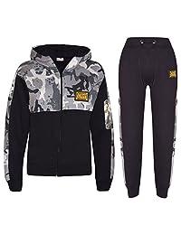 Kids Boys Girls Tracksuit Designer A2Z Badged Camouflage Top Bottom Jogging Suit