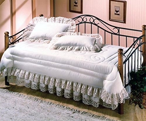 Hillsdale Furniture Winsloh Daybed w/Suspension Deck Medium Oak/Black