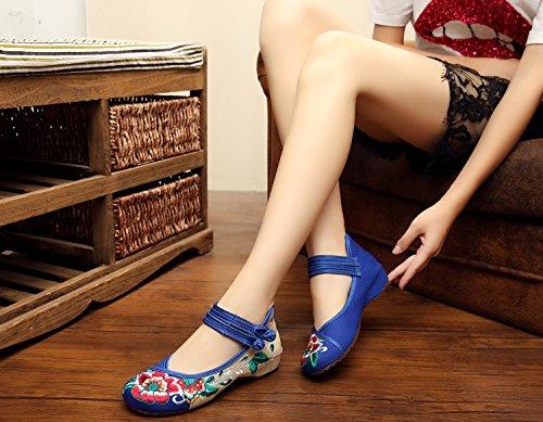 Azul U mujer Merceditas para Buy IvrvxwqYfU