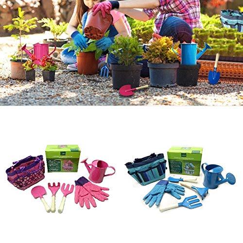 Fragil Tox Gardening Tool Set Little Gardener Tool Set with Bag Kids Children Gardening Boys Girls Gift Toys JUL31_40 Multi Medium Medium by Fragil Tox (Image #3)
