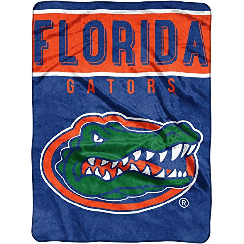 The Northwest Company Officially Licensed NCAA Florida Gators Basic Raschel Throw Blanket, 60