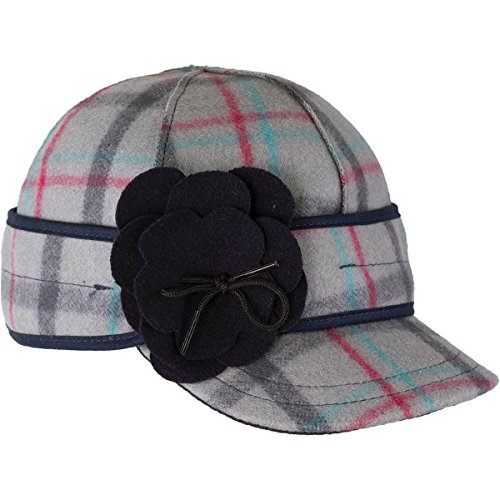 Stormy Kromer The Petal Pusher Cap, Color: Thimbleberry, Size: 7 1/2 - Thimbleberries Flannel