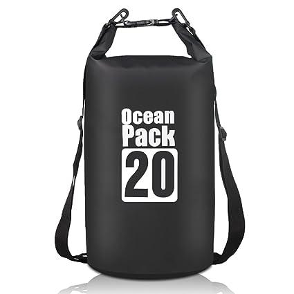 e8697c9be5 Amazon.com   Lyuwpes Marine Floating Waterproof Dry Bag 20L