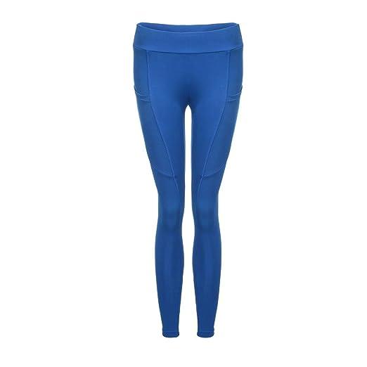 9dcb3547b5ff5 Women's Fitness Sports Leggings Plus Size Tummy Control High Waist Gym  Running Yoga Pants Stretch Pocket