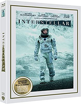 Interstellar Blu-Ray [Blu-ray]: Amazon.es: Matthew ...