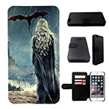 Game of Thrones iphone 5 wallet leather case, iphone 5s wallet case, iphone 5/5s flip case, black