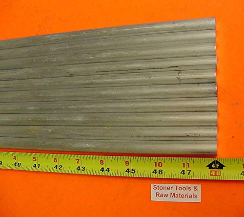 10 Pieces 5/16'' Aluminum 6061 Round Rod 48'' Long Solid T6511 .312'' Bar 40 Foot