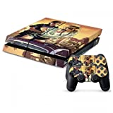 MightyStickers Protective Vinyl Skin Decal Cover for Sony PlayStation 4 PS4 Console & Remote DualShock 4 Controller Sticker Skins - Sexy and Sheriff