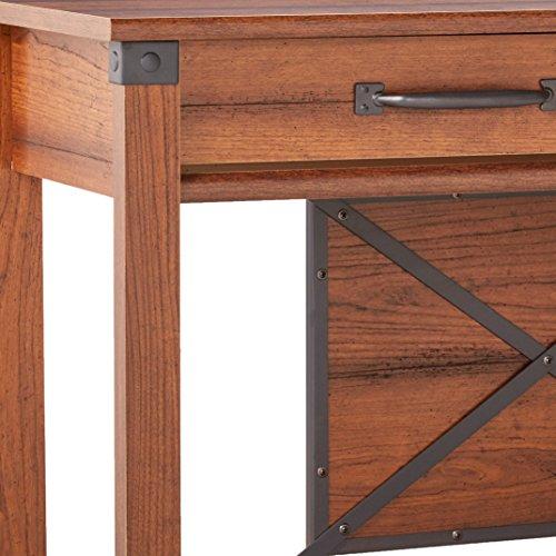 Sauder 414443 Carson Forge Sofa Table L 47 17 X W 17 01 X H