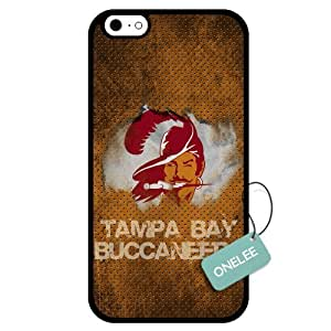 Onelee(TM) - Customized NFL Tampa Bay Buccaneers Team Logo Design TPU Apple iPhone 6 Case Cover - Black 05 by Maris's Diary