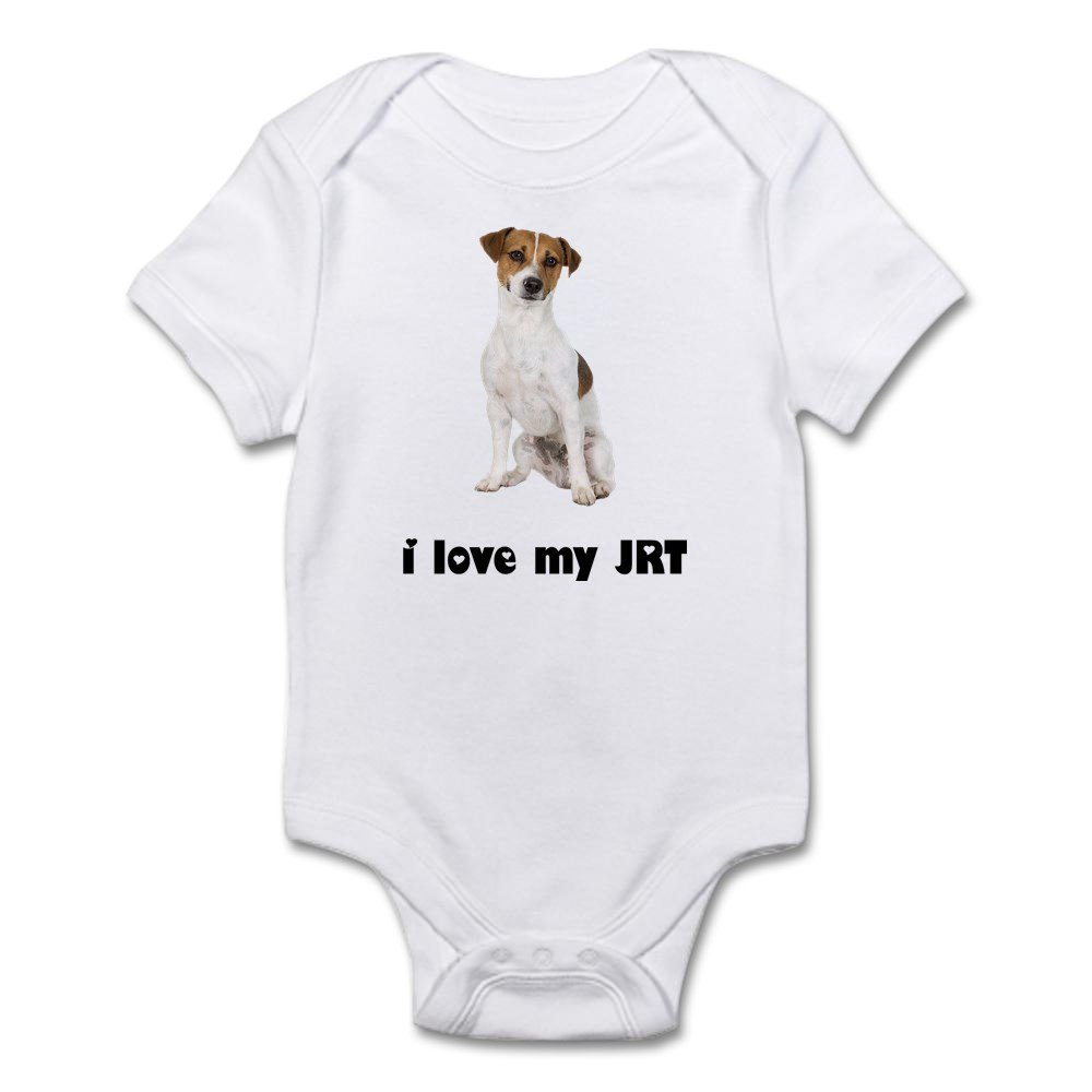 db7ea0461a Amazon.com: CafePress Jack Russell Terrier Lover Infant Baby Bodysuit:  Clothing