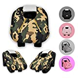 Cozy Cover Infant Car Seat Cover (Camo) - Industry Leading Infant Carrier Cover Trusted by Millions of Moms Worldwide for Keeping Your Baby Cozy and Warm
