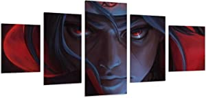 Rumlly Canvas Painting Posters Canvas Wall Art Cool Itachi Uchiha Naruto Japanese Classic Anime Poster Home Decoration Painting Oil Painting Frame-style1 (S) 8x12inchx2 8x16inchx2 8x20inchx1