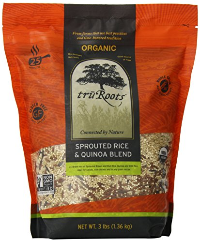 (truRoots Organic Sprouted Rice and Quinoa Blend Bag, 3)