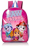 Paw Patrol Little Girls Skye and Friends 15' Backpack with Lunch Kit, Pink, 15