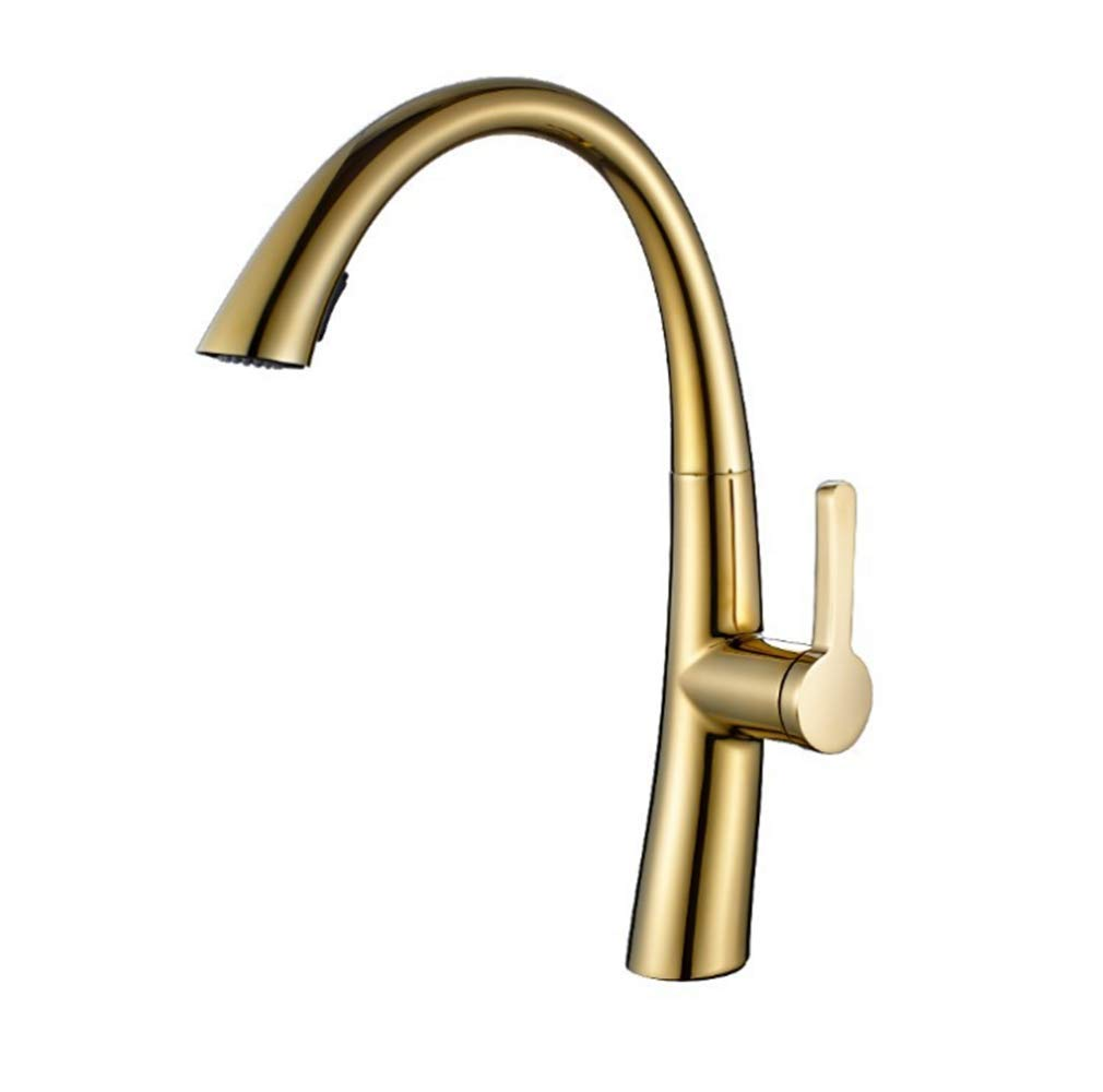 Kitchen Taps Faucet Modern Kitchen Sink Taps Stainless Steelbathroom Basin with A Single Hot and Cold Faucet