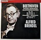 Beethoven Piano Sonatas: Alfred Brendel Op.…