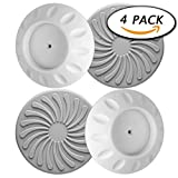 Baby : Paxcoo 4 Pack Wall Guard Pads for Baby Gate Pressure Mount