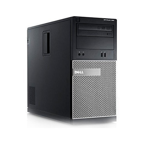 Dell 390 Tower - Intel Core i3 3.10GHz, 8GB DDR3, 1TB HDD, Windows 7 Pro 64-Bit, WiFi (Renewed) (Best Computer Games For Windows 7)