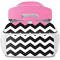 Skin For DJI Goggles – Pink Chevron | MightySkins Protective, Durable, and Unique Vinyl Decal wrap cover | Easy To Apply, Remove, and Change Styles | Made in the USA