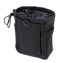 Docooler Tactical Drawstring Molle Magazine Dump Pouch Bag