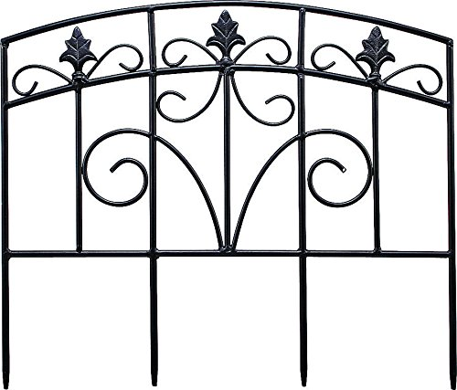 DECORATIVE ARCH GARDEN FENCE (Pack of 12)