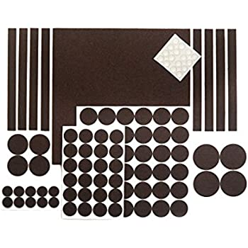 OUR HOUSE Premium Pack Furniture Pads - Felt Pads Furniture Feet