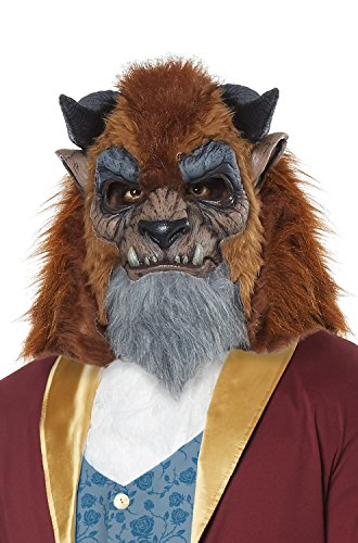 Mens Storybook Beast Prince Costume Mask