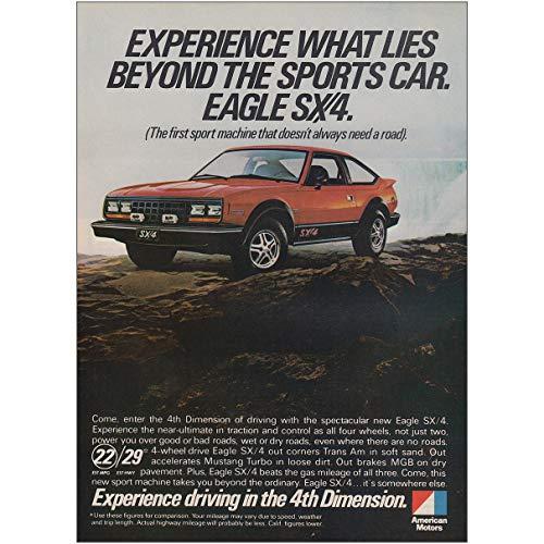 RelicPaper 1980 American Motors Eagle SX4: What Lies Beyond, American Motors Print Ad