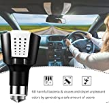 Multi- Car Air Purifier Charger,with Dual Car Quick Charger and Emergency Safety Hammer,Air Freshener,Ionizer,Ionic Air Purifier,Air Cleaner Removes Cigarette Smoke and Bad Odors for all Automobile
