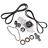 #10: Engine Timing Belt Kit with Water Pump for 2003-2017 Honda Accord Crosstour Pilot Odyssey Ridgeline Acura MDX RDX RL TL TSX ZDX # TCKWP329 TKH-002 TKH002