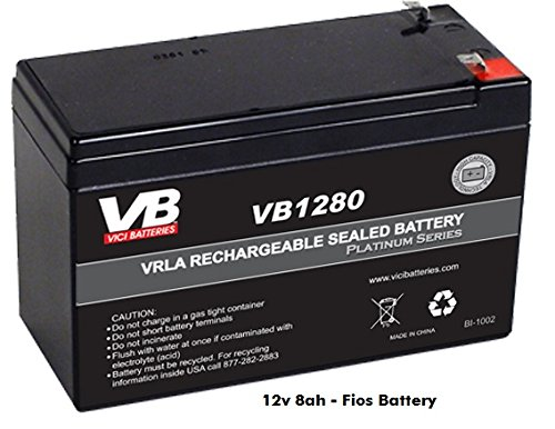 Verizon Fios Battery Replacement   By Vici